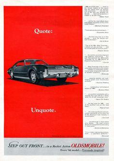 1966 Oldmobile Toronado Add