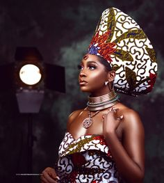 African Wedding Attire, African Attire, My Black Is Beautiful, Beautiful People, Beautiful African Women, African Colors, African Models, African Lace, African Culture