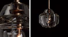 СВЕТИЛЬНИКИ НАД ОСТРОВОМ Pendants | Chandeliers - Alison Berger Glassworks