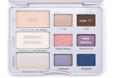 too faced country nashville nudes palette makeup look. country crushin