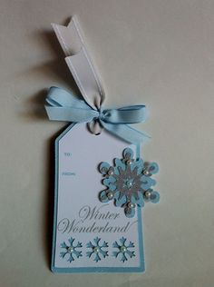 Hello, friends! Today I have some easy tags that I made using the Teresa Collins Christmas Sentiments Cricut Craft Room Exclusive and the Artiste cartridge. I love making these for people who will ap