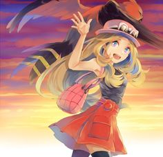 pokemon, serena, and talonflame Bild