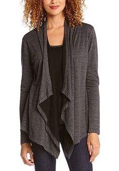 comfy draped sweater