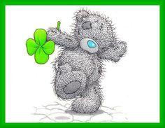 ●•‿✿⁀Taɬɬy Teddy‿✿⁀•● Happy st patty's day