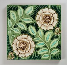 William Frend De Morgan tile