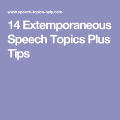 extemporaneous speaking are americans shifting in A memorized mode of speaking is considered easier than extemporaneous speaking because you can read a copy of your speech t or f.