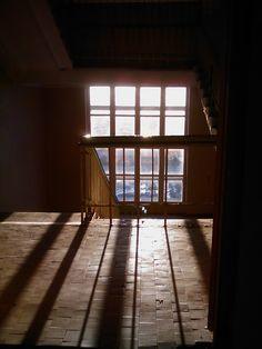 Лестничная площадка, 4 этаж. Моя школа. С телефона.