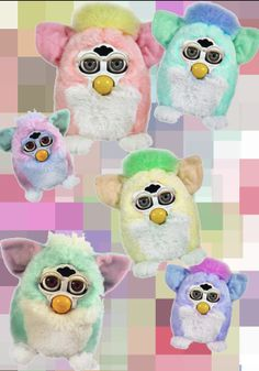 FURBY PRINT. BY JESSICA LEIGH WALL