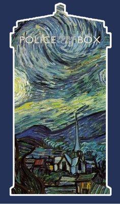 Van Gogh's TARDIS