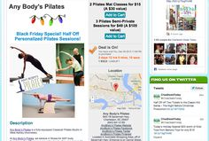 LAST CHANCE to Get our HOT Pilates Deal from Charleston Daily Deals! or call the Studio - 843.641.0185 for more info!