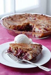 Barefoot Contessa - Recipes - Easy Cranberry & Apple Cake