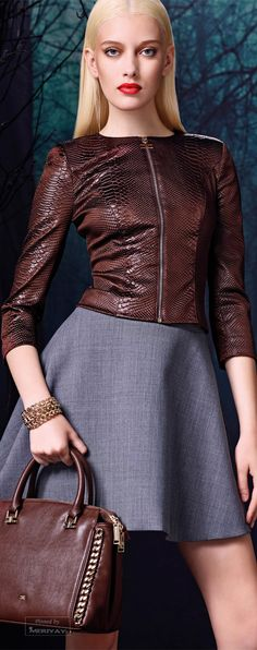 Elisabetta Franchi Fall - Winter 2014-2015 | The House of Beccaria~