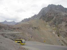 ...Frontera Argentina Chile, Cordillera de los Andes 4.800 metros de altura...