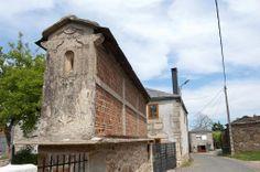 Hórreo en el Camino de Santiago: Etapa de Portomarín a Palas del Rei Foto de Jesús Pérez Pacheco