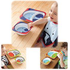 #CottonBabies Skip Hop Zoo Bowls (3-Pack) - Gift Ideas - Cotton Babies Cloth Diaper Store