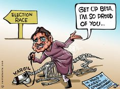 Musharraf is proud of Kargil!  Pervez Musharraf is back in Pakistan   and is preparing to contest elections!