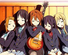 /K-ON!/#1177768 - Zerochan   K-On!   Kakifly   Kyoto Animation / Hirasawa Yui, Tainaka Ritsu, Akiyama Mio, Kotobuki Tsumugi, and Nakano Azusa