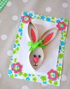 diy card-rabbit-Easter-recup-Creamalice - Ostern - Crafts Home