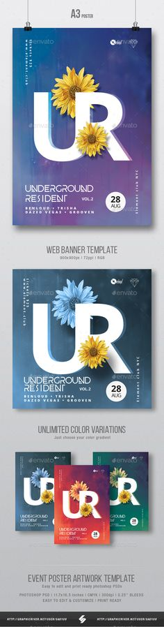 Club music, house party flyer artwork templateElectronic music party flyer template suited for different genres of electronic music like minimal, techno, techhouse, progressive, dubstep, drum and bass, electronica, trance, electro, deep house, club house, chi
