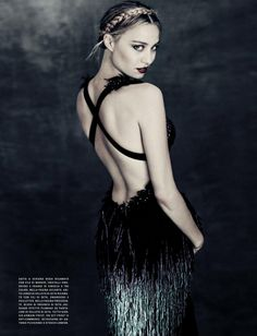 Duchess Dior: Beatrice Borromeo by Paolo Roversi for Vogue Italy September 2015