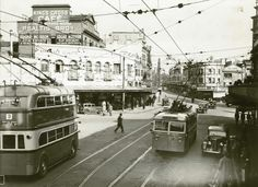 First official trip of the No.2 and No.3 Trolley buses from Rushcutters Bay Depot Dated: 22/01/1934
