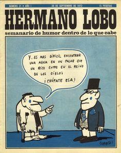 Hermano Lobo Número 21 · Año I   (30 de Septiembre de 1972) (I CAN READ ALMOST ALL OF THIS!!!!!!!!☺)