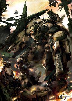 Robot War 03 by thaigraff.deviantart.com