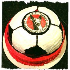 Xolos de Tijuana - soccer cake for hubby ⚽