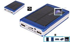 30000mah Dual USB Portable Solar Panel Power Bank Brand new and high quality. It is suitable for mobile phones, digital cameras, PDA, PSP, MP3, MP4, GPS, DV and so on.