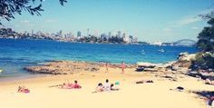 Milk Beach is a hidden gem, talked about only by Sydneysiders who visit to relax on the beach or hold private parties with a spectacular view