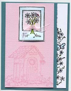 For You Card, Stamps, & DIY Directions from GreatImpressionsStamps.com