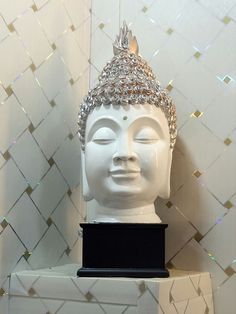 Buddha Statue with Diamond Head  shop now: https://ealpha.com/home-decor-gifting-ideas/unique-buddha-incense-holder/11584  For more updates please  whatsapp at +91-9300002732