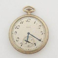 Lot # 45: Vintage Elgin Pocket Watch.  *NO RESERVE* Gold Rush Pays Auction Rodeo: July 30th at 2pm EST