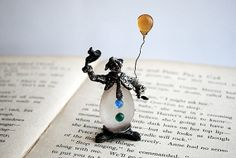 Small Vintage Clown by honeyandsea on Etsy, $12.00