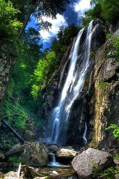 Rainbow Falls in the Adirondacks New York via flickr