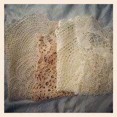 Vintage lace doilies #antwerp #belgium #europe #fleamarket #market #bargain #carboot #photooftheday #webstagram #instagram #vintage #inspiration #interiors #home - @stezbot- #webstagram