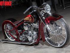 Custom Motorcycles and Custom V-twins   Hot Bike