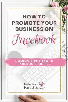 Learn about these Facebook marketing strategies that will help you grow your business. You can use your Facebook profile for business. If you want to know how to use Facebook profile for business, then check these 4 steps. You can successfully use Facebook profile to attract buyers and make sales daily. #BigIncomeParadise #FacebookMarketing #FacebookForBusiness #FacebookMarketingTips #FacebookMarketingStrategy Using Facebook For Business, How To Use Facebook, For Facebook, Promote Your Business, Online Business, Facebook Marketing Strategy, Content Marketing, Online Marketing, Social Media Marketing