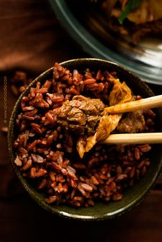 Thai Red Rice   Spicie Foodie