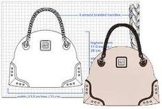 Resultado de imagen de fashion designers drawings of handbags