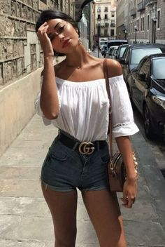 Summer Outfits Street Style 27 #outfitinspo #summeroutfit #spring