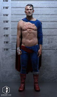 Superman Decline 3D Art by Dan Roarty – zbrushtuts