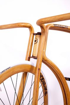 Faux Wooden Bike by Velonia Bicycles
