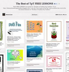 Pinterest Linky Party - See the three favorite Pinterest boards from teachers around the world...