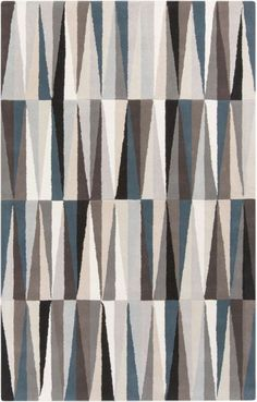 Surya OAS1094 Oasis Hand Tufted 100% Wool Rug 3 1/2 x 5 1/2 Rectangle Home Decor Rugs Rugs