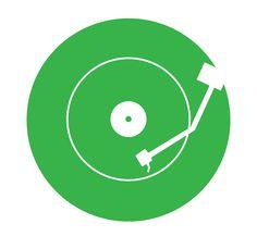 vinyl record logo - Google zoeken