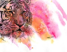"""Check out new work on my @Behance portfolio: """"Tiger"""" http://on.be.net/1hsYIL6"""