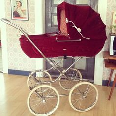 Vintage Pram, Prams, Kids And Parenting, Baby Strollers, Infant, Colours, Retro, Children, Instagram