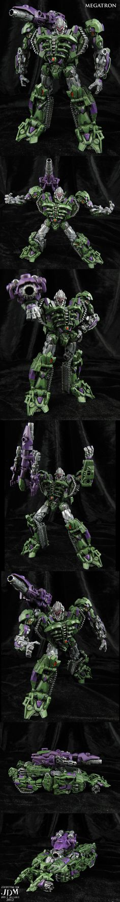 •G2 style Movie Megatron Custom Figure by Jin-Saotome