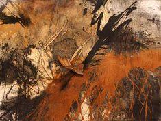 © Sophie Cape ~ Legem terrae ~ 2013 unique state etching, aquatint, drypoint, spit-bite, foul-bite, relief, carborundum and chine colle on 640 lana gsm paper at Tim Olsen Gallery Sydney Australia